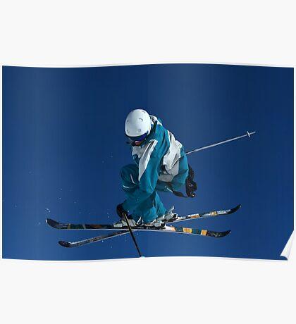 Ski Jumper Poster