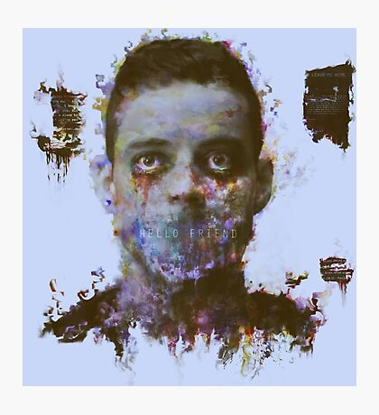 Mr Robot Photographic Print