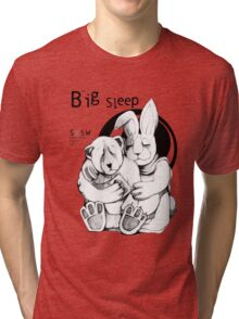 The Big Sleep Tri-blend T-Shirt