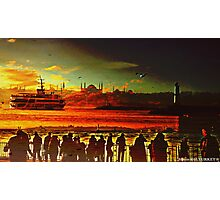 artistanbul design bosphorus twilight Photographic Print