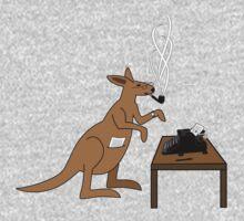 Typing Kangaroo by DylanCarlson