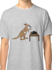 Typing Kangaroo Classic T-Shirt