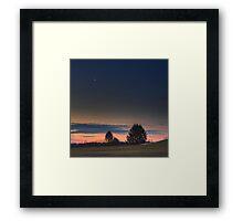 Moonslice Framed Print