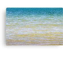 Cool Clear Waters Canvas Print