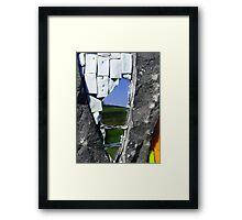 Mosaic Mirror Framed Print