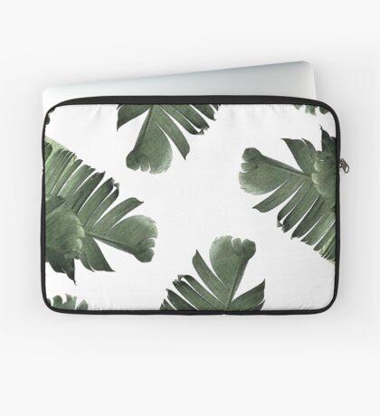 Banana Leaf Frenzy #redbubble Laptop Sleeve