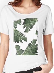 Banana Leaf Frenzy #redbubble Women's Relaxed Fit T-Shirt