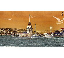 artistanbul design maiden's tower Photographic Print