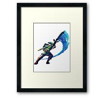 Link Slash Framed Print