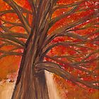 Fall Tree by Laura Godden