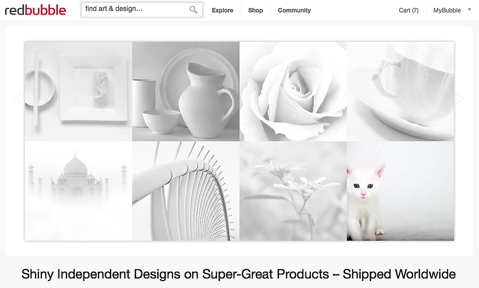 White on White - 19 February 2012 by The RedBubble Homepage