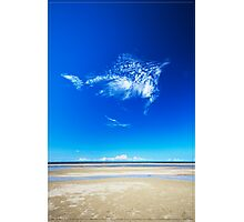 Blue Skies, Smiling at Me Photographic Print