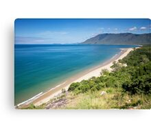 Rex Lookout looking south towards Cairns Canvas Print