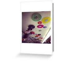 Ceiling of Bleecker Street Records - Greenwich Village - New York City Greeting Card