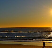 Early Morning Beach Walk by RCphotography3