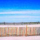 Fences at Fort Canby by Alice Schuerman