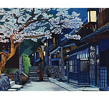 Under the Cherry Blossoms, Spring Photographic Print