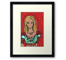The enchantress of tattered forest Framed Print
