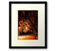 Park N Ride. Framed Print