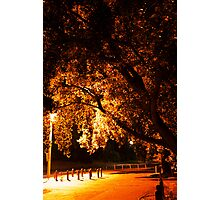 Park N Ride. Photographic Print