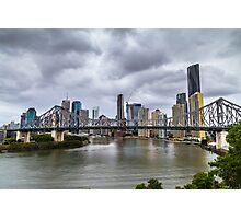 Brisbane's Story Bridge Photographic Print