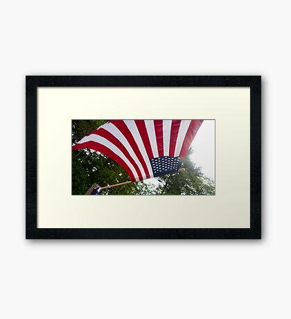 Stars & Stripes Forever Framed Print