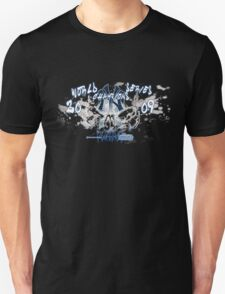Yankees 2009 World Series Champions Shirt (Dark Version) T-Shirt