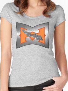 Battle Armor He-Man (DAMAGE version) Women's Fitted Scoop T-Shirt