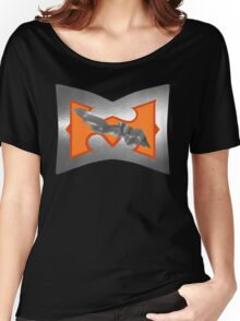 Battle Armor He-Man (DAMAGE version) Women's Relaxed Fit T-Shirt