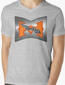 Battle Armor He-Man (DAMAGE version) Mens V-Neck T-Shirt