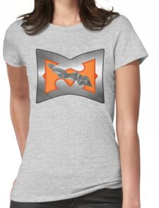 Battle Armor He-Man (DAMAGE version) Womens Fitted T-Shirt