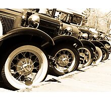 Classics Keep Rollin' Along Photographic Print