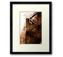 Melbourne, Australia - Alley Framed Print