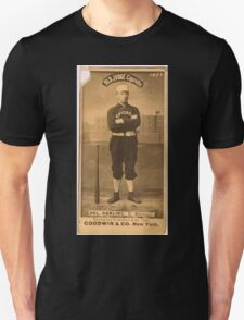 Benjamin K Edwards Collection Dell Darling Chicago White Stockings baseball card portrait 003 Unisex T-Shirt