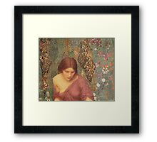 In My Meadow Framed Print