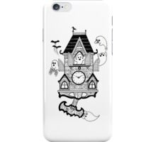 Happy Haunted Clock iPhone Case/Skin