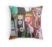 bonded by raven Throw Pillow