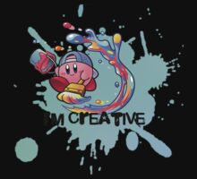 Kirby Paint One Piece - Short Sleeve