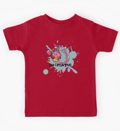 Kirby Paint Kids Tee