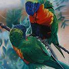 Birds Of Colour. by Debra Freeman