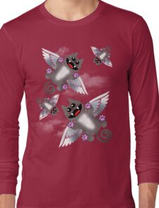 ANGEL FELINE Long Sleeve T-Shirt