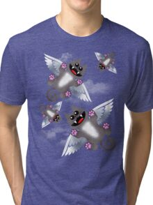 ANGEL FELINE Tri-blend T-Shirt
