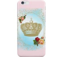 Shabby Chic Crown iPhone Case/Skin