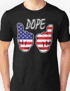 Cartoon Hands USA  T-Shirt