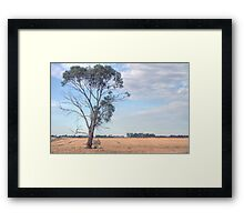 farmlands Framed Print