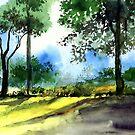 Good Morning 2 by Anil Nene