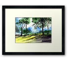 Good Morning 2 Framed Print
