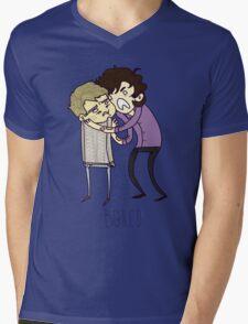 BORED Mens V-Neck T-Shirt