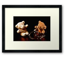 Don't Pretend the Innocent Lamb! Framed Print