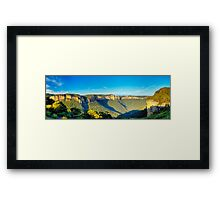 Sun Valley Framed Print